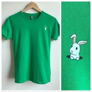 Down the Rabbit Hole Fitted Tee